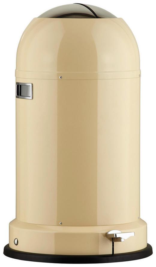 ABFALLSAMMLER Kickmaster CL Soft 33 L - Edelstahlfarben/Creme, Basics, Kunststoff/Metall (41/69cm) - Wesco