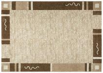 Webteppich Luisa 120x170 cm - Beige/Braun, KONVENTIONELL, Textil (120/170cm) - Ombra