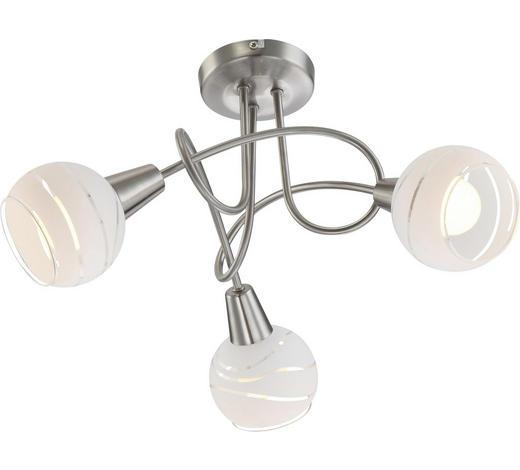 LED-DECKENLEUCHTE   - KONVENTIONELL, Glas/Metall (39/24,5cm) - Boxxx