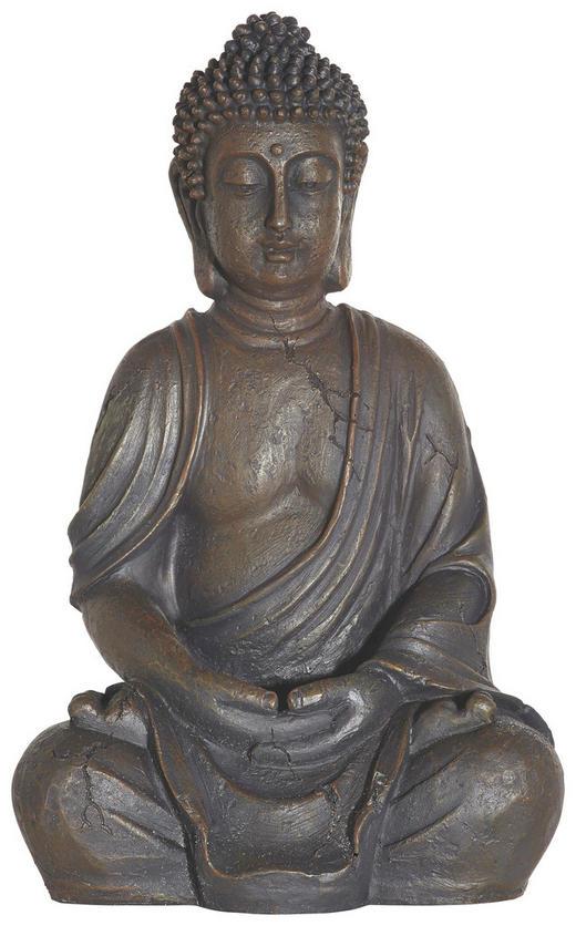 BUDDHA - Anthrazit, Basics, Stein (30cm) - Ambia Home