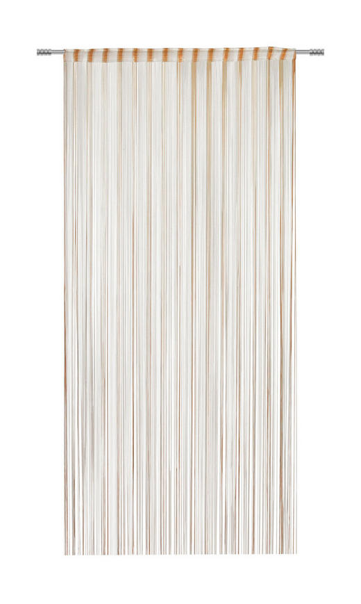 FADENSTORE transparent - Orange, KONVENTIONELL, Textil (100/260cm) - Esposa