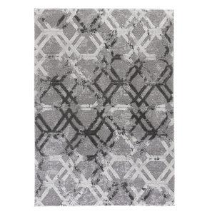 VÄVD MATTA 200/290 cm - silver, Design, textil (200/290cm) - Novel