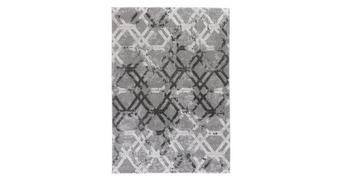 WEBTEPPICH - Grau, Design, Textil (80/150cm) - Novel