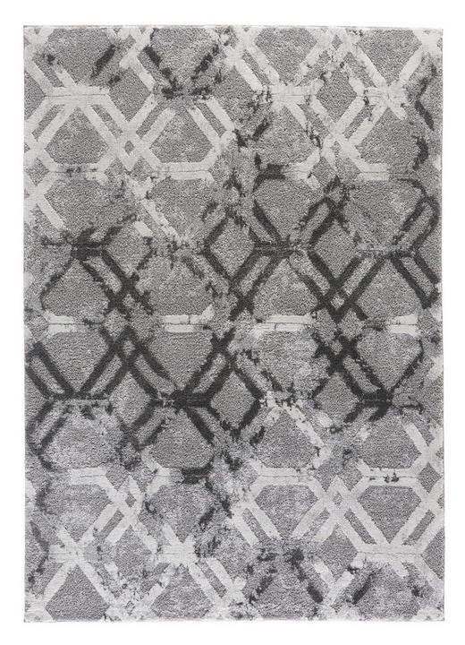 WEBTEPPICH - Grau, Design, Textil (200/290cm) - Novel