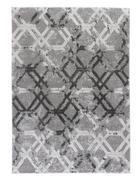 Webteppich - Silberfarben, Design, Textil (80/150cm) - Novel