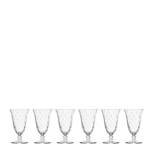 TRINKGLAS-Set 6-teilig - Klar, Trend, Glas (0,27cm) - Leonardo