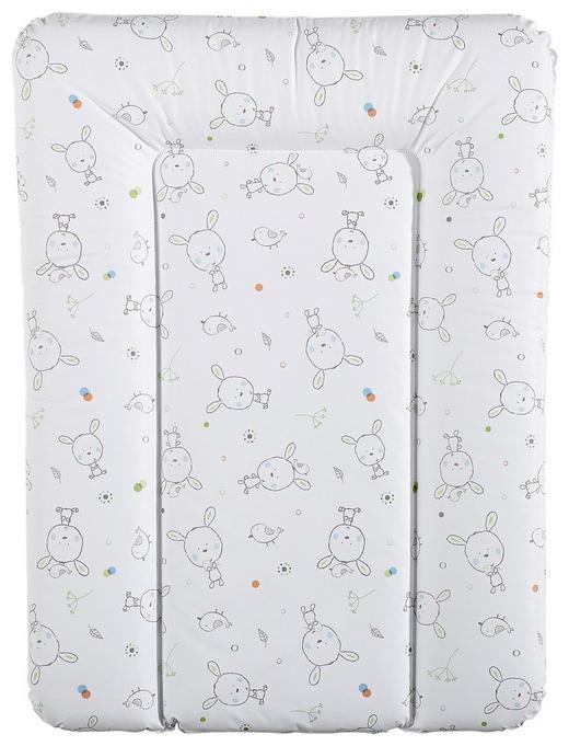 WICKELAUFLAGE All Over - Multicolor/Weiß, Basics, Kunststoff (52/72cm) - My Baby Lou