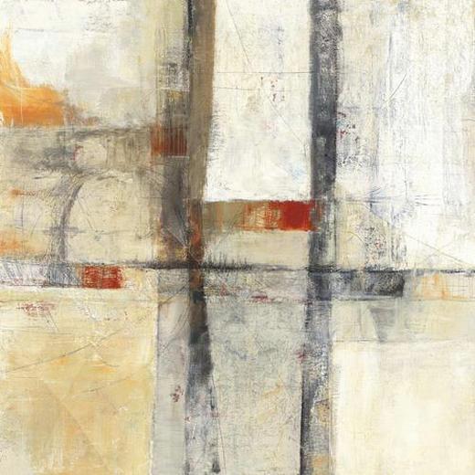 Abstraktes KEILRAHMENBILD - Multicolor, Basics, Holz/Textil (55/55/3,5cm) - Eurographics