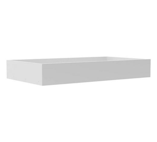 SCHUBLADE - Weiß, MODERN, Holzwerkstoff (87,9/14/53cm) - Hom`in