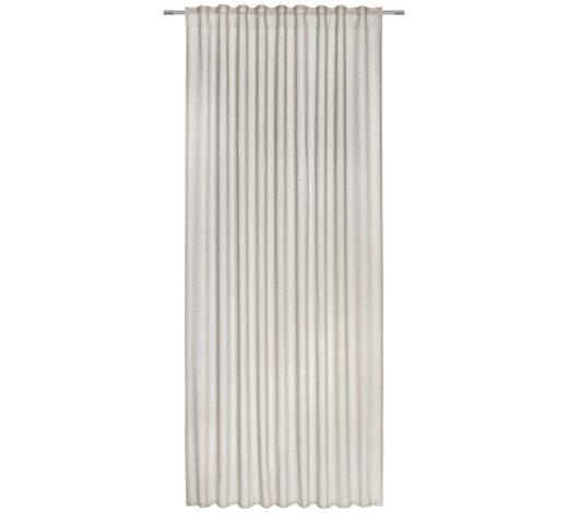 FERTIGVORHANG transparent - Sandfarben, KONVENTIONELL, Textil (140/245cm) - Esposa
