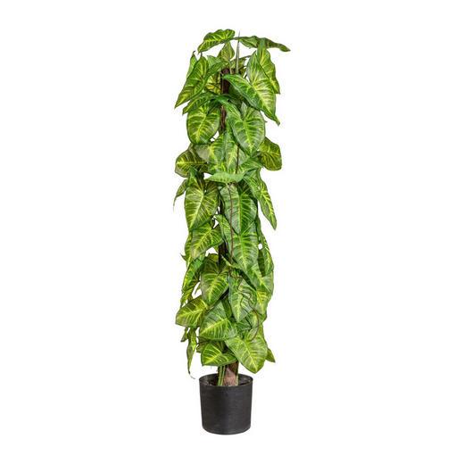 KUNSTPFLANZE - Grün, Kunststoff (90cm)