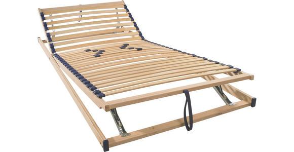LATTENROST 100/200 cm  - Birkefarben, Basics, Holz/Kunststoff (100/200cm) - Sleeptex