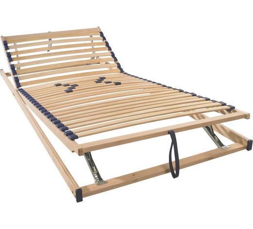 LATTENROST 120/200 cm  - Birkefarben, Basics, Holz/Kunststoff (120/200cm) - Sleeptex