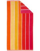 STRANDTUCH 90/180 cm - Rot/Orange, KONVENTIONELL, Textil (90/180cm) - Esposa