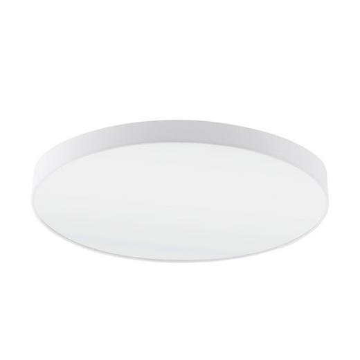 DECKENLEUCHTE - Weiß, Design, Textil/Metall (98/17cm)