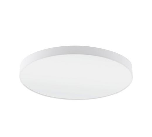 STROPNÍ SVÍTIDLO - bílá, Design, kov/textil (98/17cm)
