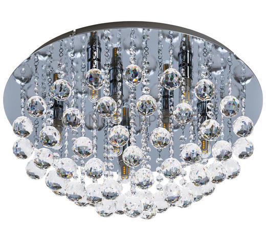 LED-DECKENLEUCHTE   - LIFESTYLE, Glas/Metall (50/30cm)