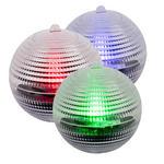 SOLARLEUCHTENSET - Silberfarben, Design, Kunststoff (8cm) - Boxxx