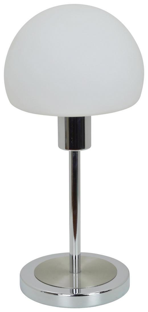 LED-TISCHLEUCHTE - Chromfarben/Nickelfarben, Design, Glas/Metall (30,5cm) - Boxxx