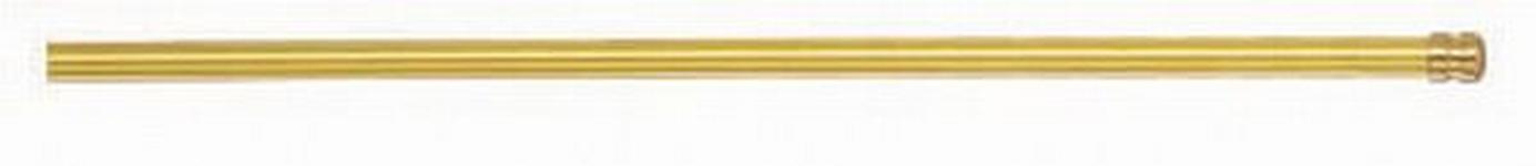 VITRAGENSTANGE 102 cm  - Goldfarben, Basics, Metall (102cm) - Homeware
