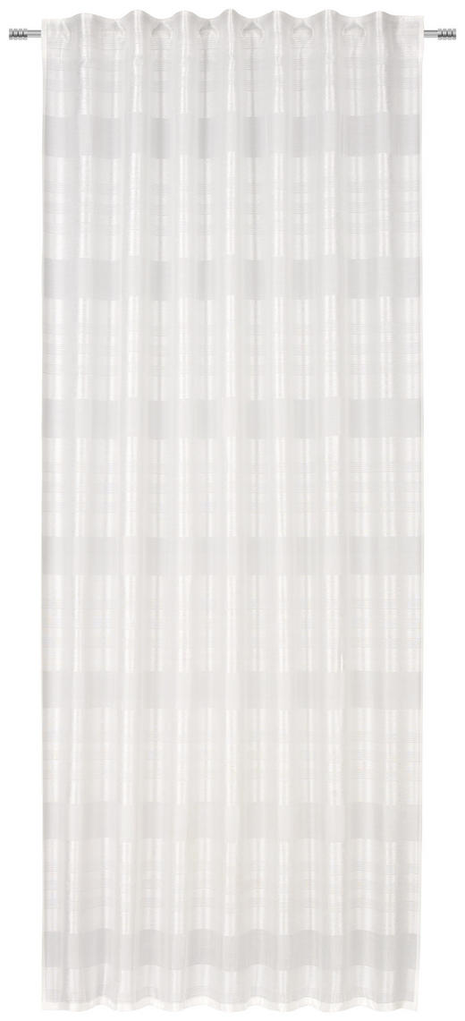 FERTIGVORHANG  blickdicht  140/245 cm - Weiß, KONVENTIONELL, Textil (140/245cm) - Esposa