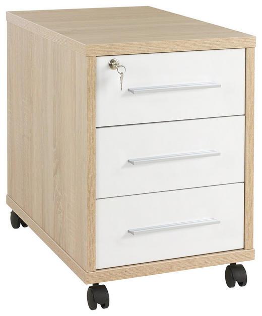 Rollcontainer Design rollcontainer sonoma eiche weiß kaufen xxxlutz