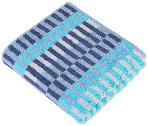 HANDTUCH - Türkis, Design, Textil (50/100cm) - Cawoe