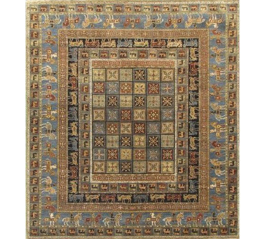 ORIENTTEPPICH 120/180 cm - Blau/Creme, LIFESTYLE, Textil (120/180cm) - Esposa