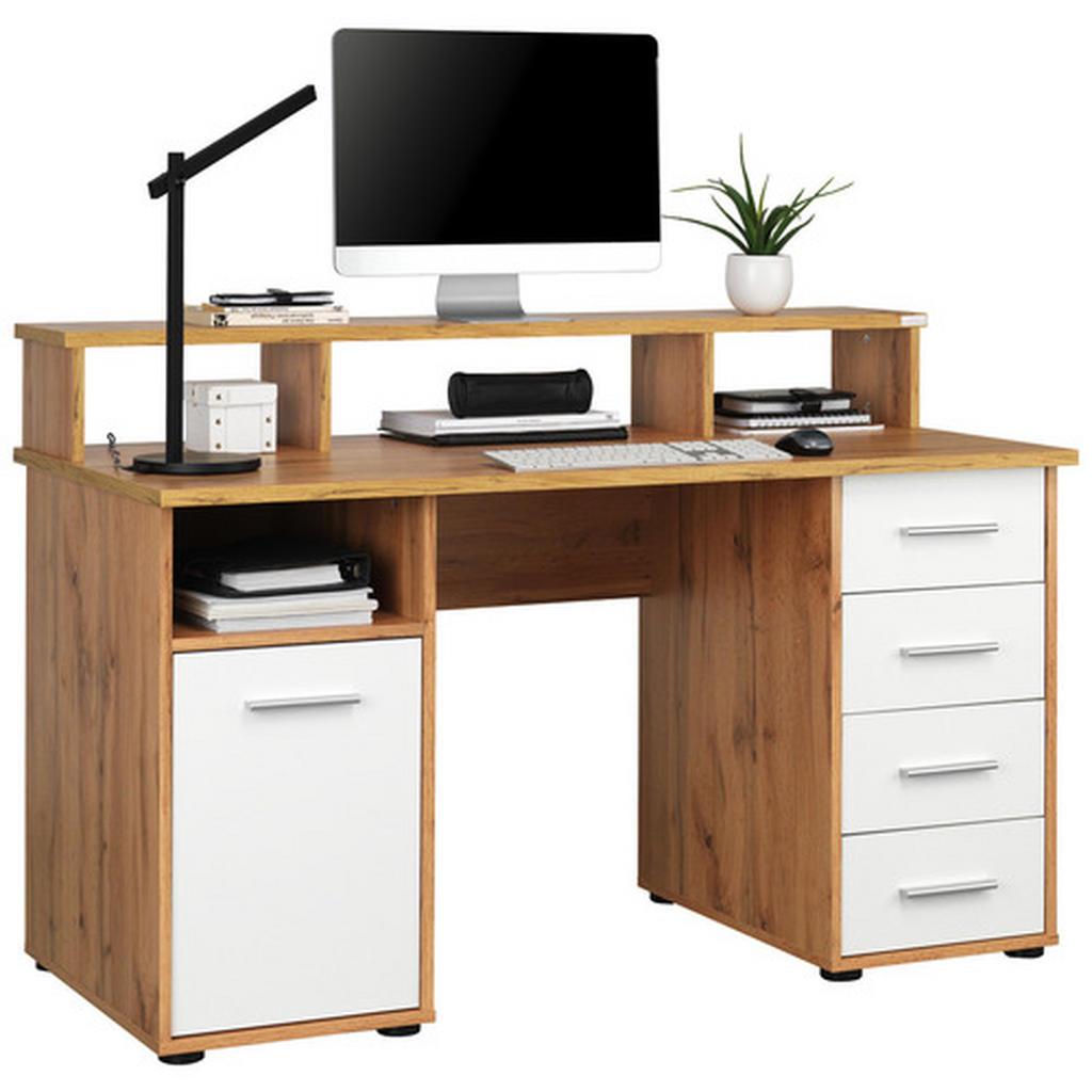 Cantus Schreibtisch weiß