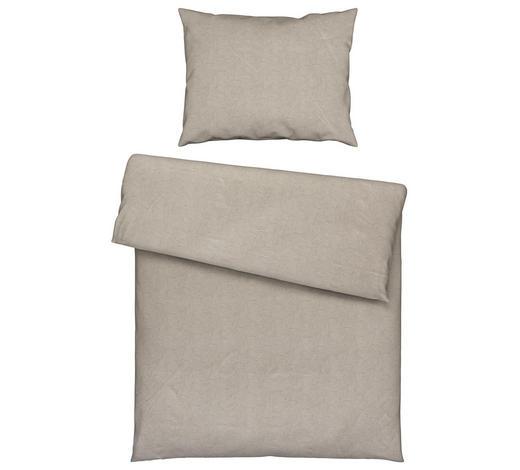 BETTWÄSCHE 140/200 cm - Beige, KONVENTIONELL, Textil (140/200cm) - Estella