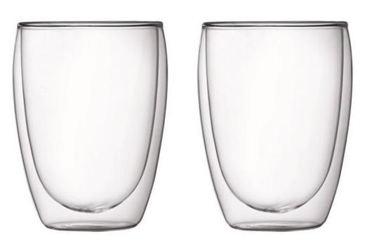 GLÄSERSET 2-teilig - Transparent, LIFESTYLE, Glas (0,35l) - Bodum