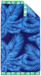 STRANDTUCH 90/180 cm - Blau, KONVENTIONELL, Textil (90/180cm) - Esposa