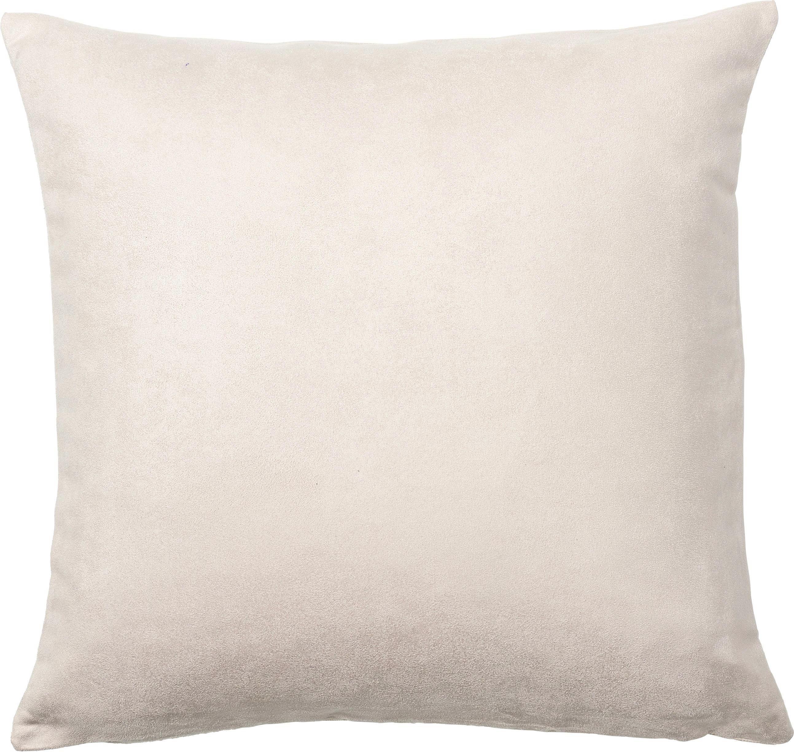 KISSENHÜLLE 50/50 cm - Creme, Basics, Textil (50/50cm) - NOVEL