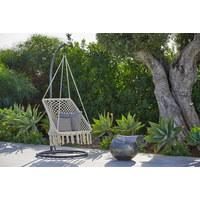 HÄNGEMATTENGESTELL 95/205/95 cm - Schwarz, Design, Metall (95/205/95cm) - Ambia Garden