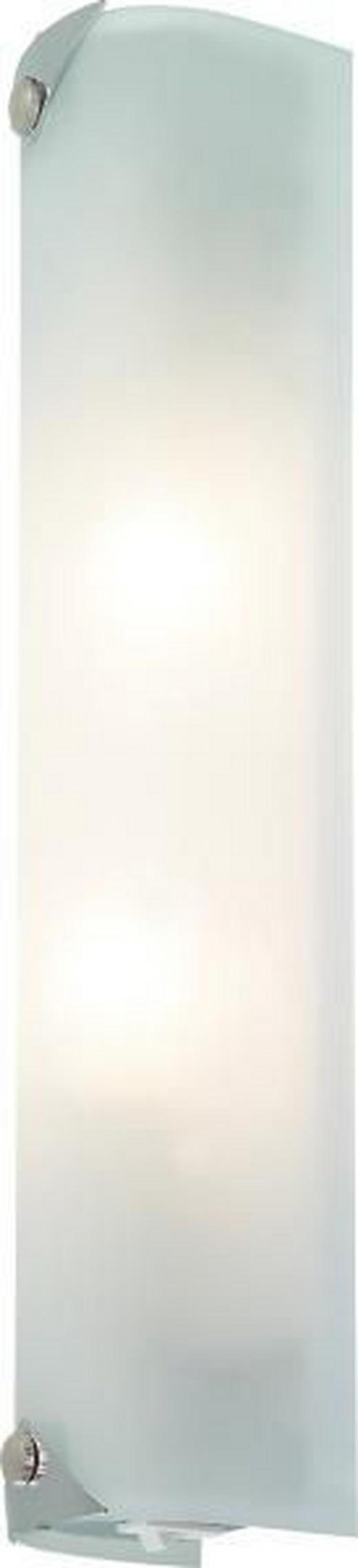BADEZIMMER-WANDLEUCHTE - Chromfarben/Weiß, KONVENTIONELL, Metall (35cm)