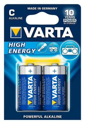 BATTERI - Basics (13,9/8.3/13.3cm) - Varta