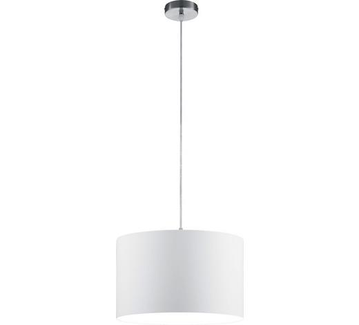 HÄNGELEUCHTE - Weiß, Design, Textil (40/150cm)