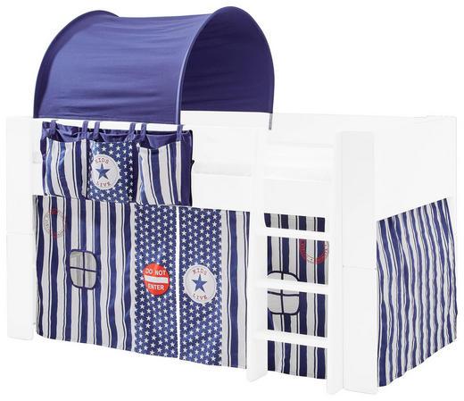 SPIELVORHANG Blau, Rot, Weiß - Blau/Rot, KONVENTIONELL, Textil - Xora