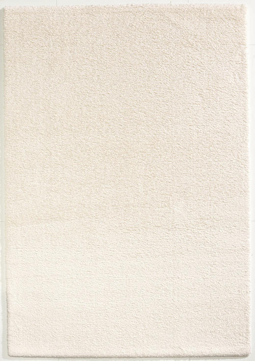 WEBTEPPICH  160/230 cm  Weiß - Weiß, Basics, Textil (160/230cm) - Novel