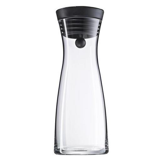 WASSERKARAFFE 0,75 l - Klar/Schwarz, Design, Glas/Kunststoff (0,75cm) - WMF