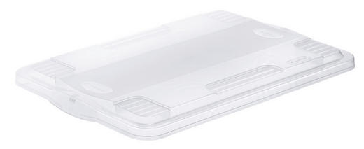 BOXDECKEL - Transparent, KONVENTIONELL, Kunststoff (40/4/60cm) - Rotho