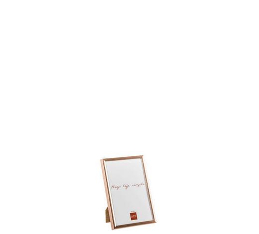 BILDERRAHMEN  Kupferfarben  - Kupferfarben, Glas/Metall (11/2/16cm)