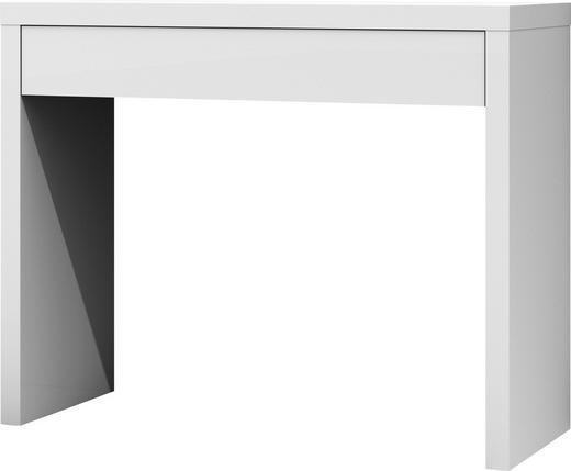 KONSOLE Weiß - Weiß, KONVENTIONELL (104,6/83/40cm) - Ti`me