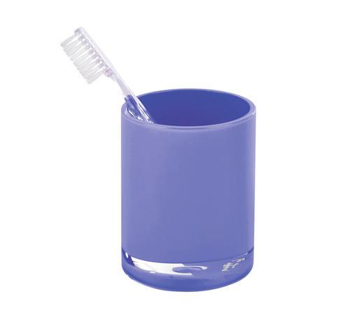 MUNDSPÜLBECHER Kunststoff - Blau, Basics, Kunststoff (7,6/9,5cm) - Sadena