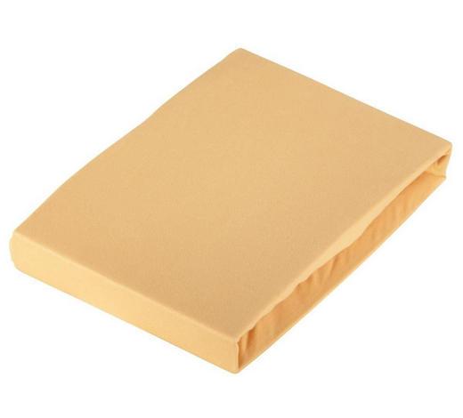 RJUHA BASIC, 100/200 džersi rumena elastika po celotnem obsegu, brez likanja  - rumena, Konvencionalno, tekstil (100/200cm) - Schlafgut