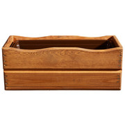 BLUMENKASTEN Holz - Kieferfarben, Basics, Holz (44/17/21cm)