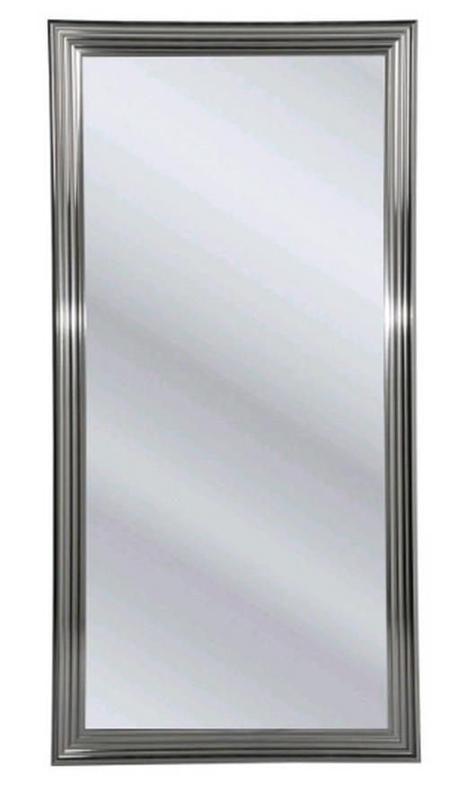 SPIEGEL Silberfarben - Silberfarben, Design, Glas/Kunststoff (90/180/3,5cm) - Kare-Design