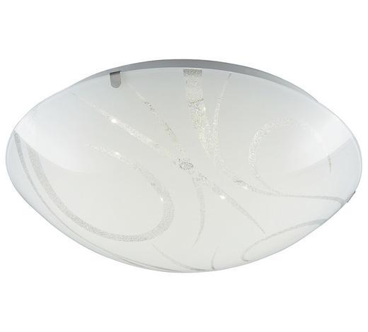 LED-DECKENLEUCHTE - Weiß, Basics, Glas (30cm) - Boxxx