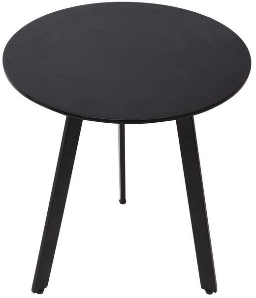 COUCHTISCH in Holzwerkstoff, Metall - Schwarz, Design, Holzwerkstoff/Metall (40/45cm) - Carryhome