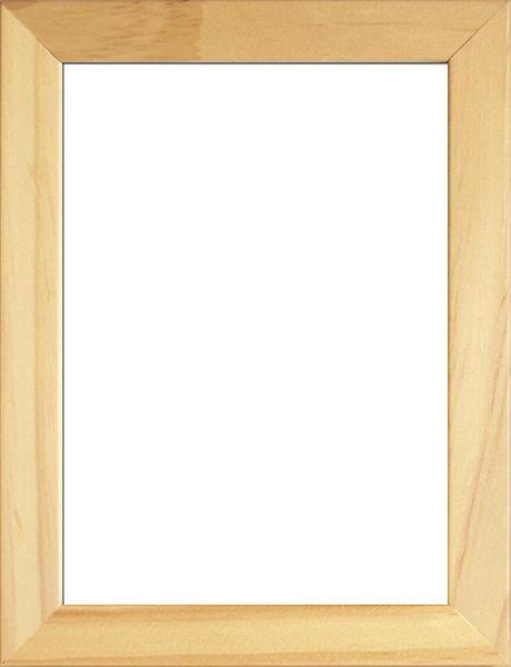 RÁM NA OBRAZY - přírodní barvy, Basics, dřevo/sklo (33/27/3cm)